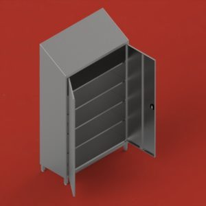 Storing cupboards