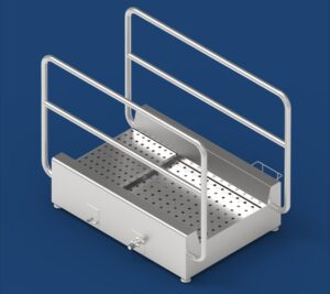 Shoes disinfection stands