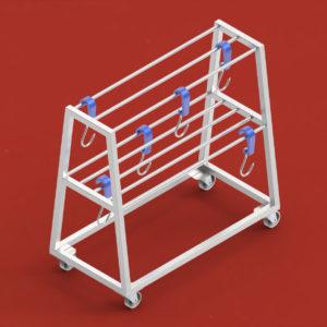 Hooks and baskets Trolleys